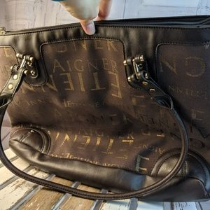 Etienne Aigner tote bag handbag travel carry shoul